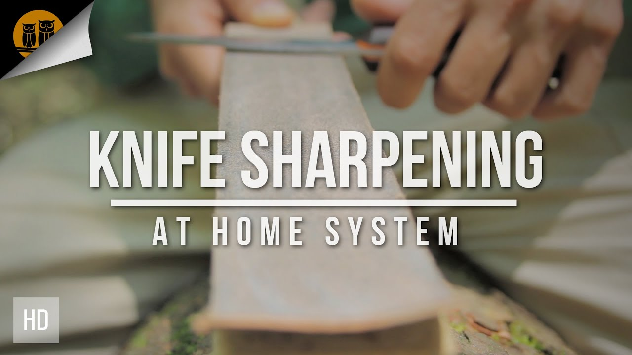Krik's At Home Knife Sharpening System