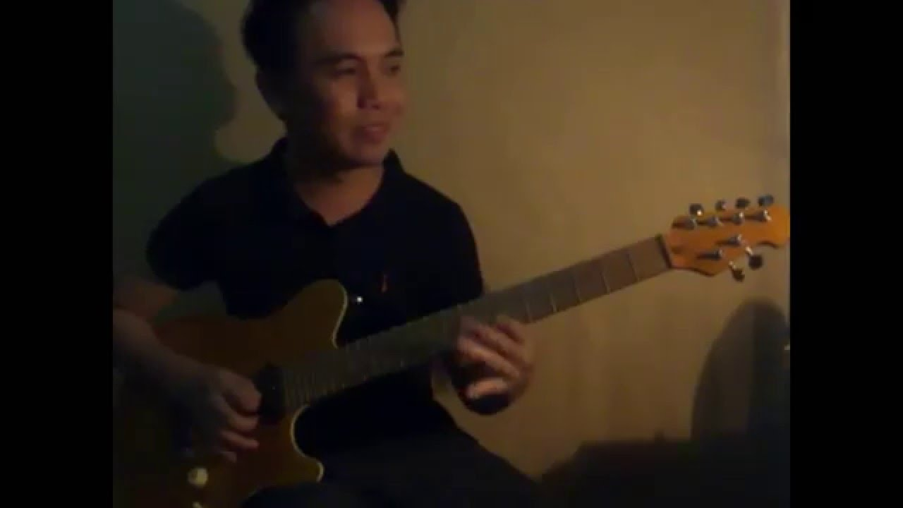Blues jazz guitar solo improv - YouTube