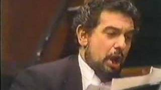 Placido Domingo sings Ideale