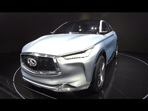 2016, 2017 Infiniti QX Sport Inspiration SUV Concept Unveiled On The Beijing Auto Show
