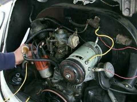 final part 4 installing a generator youtube rh youtube com vw alternator wiring vw dune buggy generator wiring