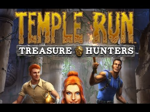 TEMPLE RUN TREASURE HUNTERS Android / iOS Gameplay