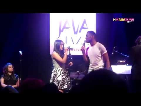 Somewhere Out There - Joshua Ledet Feat. Hanin Dhiya at Java Jazz 2015