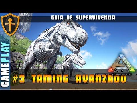 ARK SURVIVAL EVOLVED, Guia 3 los secretos del taming pro ► Gameplay Español