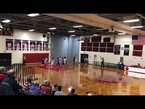 Riley Mulvey 2022 Albany Academy JV hits the 3 at the buzzer