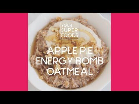 How to Make: Apple Pie Energy Oatmeal