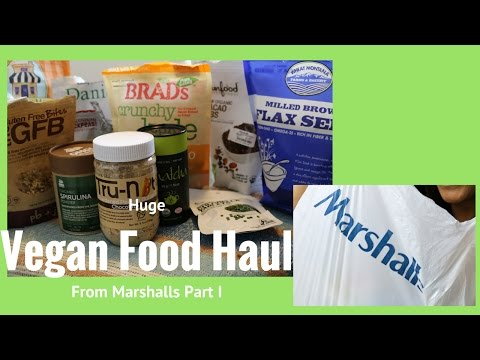 Huge Vegan Haul from Marshalls Part I