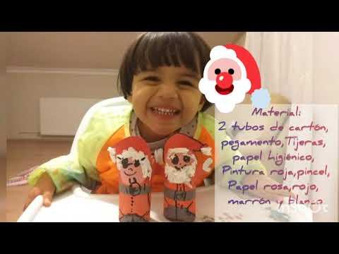 Cardboard Santa Claus and Miss Claus!