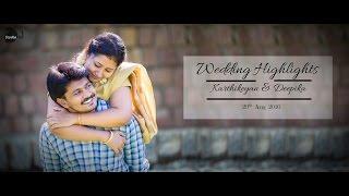 Studio Art Presents Wedding Highlights Of Karthikeyan & Deepika