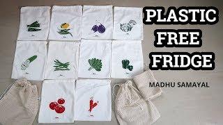 Plastic Free Fridge/Vegetable and Fruit storage/No Plastic Life