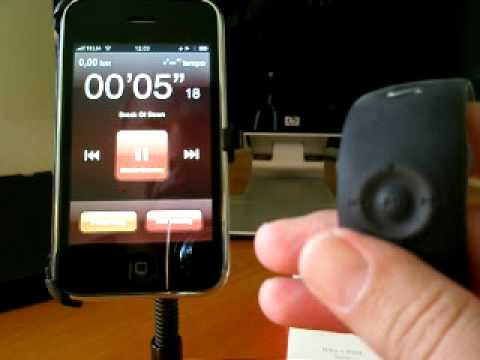 iPhone 3GS & NIKE+ Sensor WatchRemote mini review