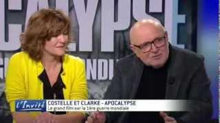 """I.CLARKE et D.COSTELLE : """"Apocalypse montre l'horreur de la guerre"""""""