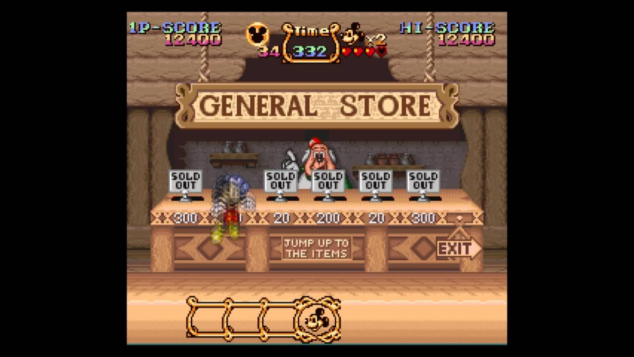snes longplay  magical quest starring mickey mouse  youtube