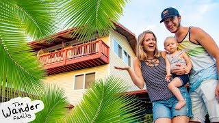 AMAZING HAWAII HOUSE TOUR!! Our New Home! | The Wander Family