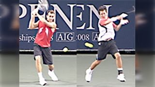 AIG OPEN 2008 1回戦 伊藤竜馬 VS ボビー・レイノルズ