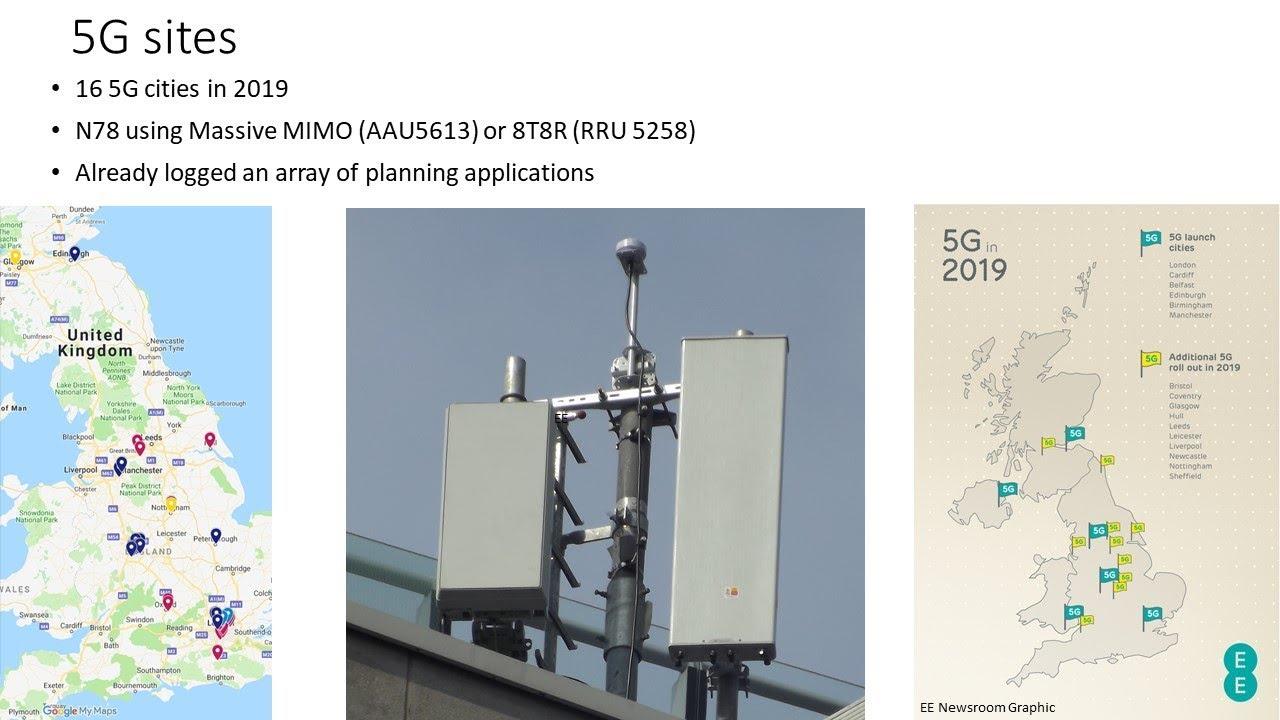 EE 2018 Network Developments: 5G NSA, Huawei Dual Band RRUs, Nokia Small  cells, refarming