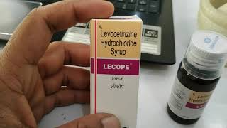 Lecop Syrup use(एलर्जी  की दवा ).side effects full review in hindi