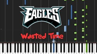 Eagles - Wasted Time Synthesia Tutorial