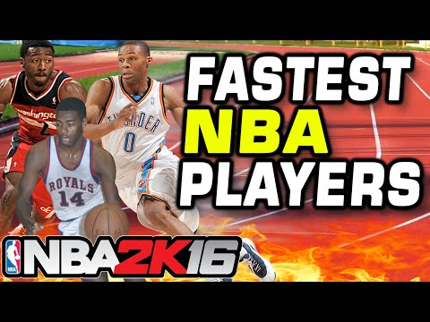 Fastest NBA Players - 99 SPEED ONLY!