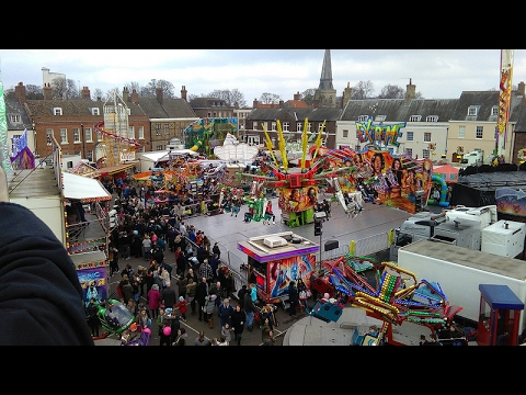 POV compilation of the rides at King's Lynn Mart 2017