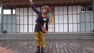 弥太郎さんの前説です 拍手の練習しましょー! 雨降っちゃいましたね…