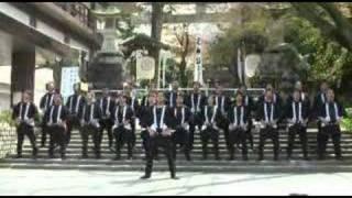 第36回「道三まつり」 伊奈波神社 木遣り 三和会 歌い手:西岡徹人.