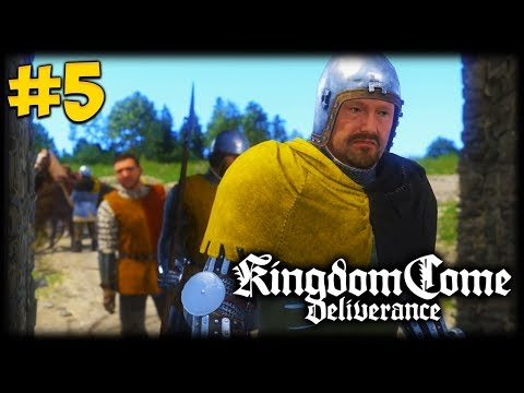 MASTER OF THE HUNT! Kingdom Come Deliverance Let's Play #5
