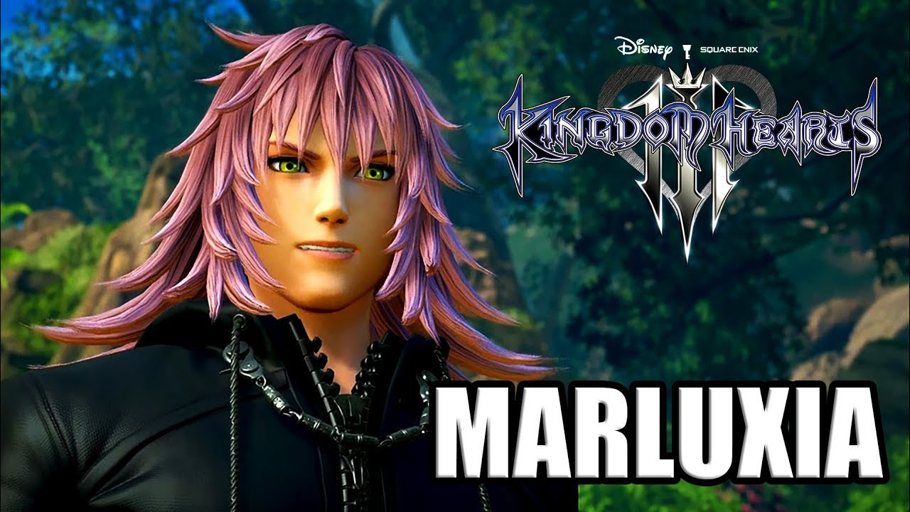 Kingdom Hearts 3 English Marluxia All Cutscenes