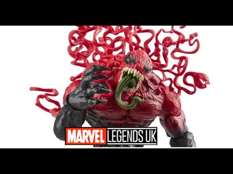 Marvel Legends Delux Toxin Review