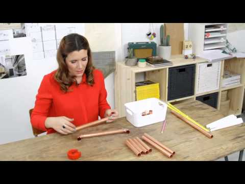 Pin It Or Bin It: How To Make A Copper Pipe Candelabra