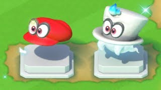 Super Mario Run - Super Mario Odyssey Statues (Cappy) - Toad Rally