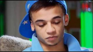 Aston Merrygold crying