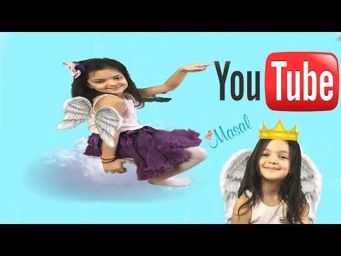 MASAL KENDİNE YENİ BİR YOUTUBE KANALI DAHA AÇIYOR - MASAL Vlog - Funny kids videos