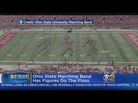 Ohio State Marching Band Does The Floss