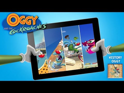 Oggy and the Cockroaches - ????HISTORY OGGY GAME ????- App Launch Trailer ????