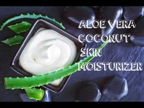 Diy 3 ingredient coconut aloe vera skin moisturizer youtube diy 3 ingredient coconut aloe vera skin moisturizer solutioingenieria Gallery