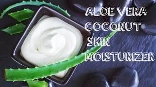 DIY 3-Ingredient Coconut-Aloe Vera Skin Moisturizer