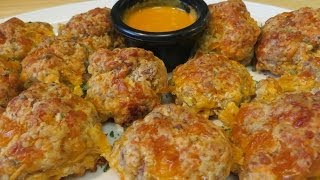 Classic Sausage And Cheese Balls - Quick And Easy