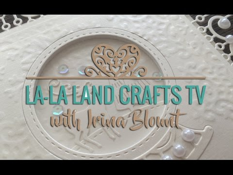 Snow Globe Window Card TUTORIAL (La-La Land Crafts TV)