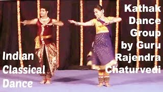 Rajendra Chaturvedi & Group - Indian Classical Dance Forms | Kathak Group Dance