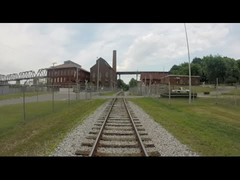 Riding on the Nose of a Locomotive from Nashville to Watertown, TN
