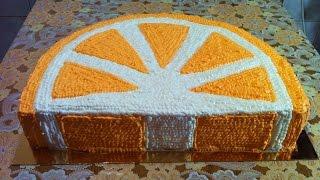Торт Апельсиновая Долька (Очень Вкусно) / Апельсиновый Торт / Orange Cake Recipe / Пошаговый Рецепт