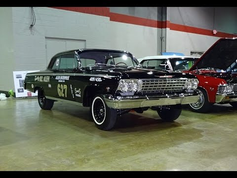 1962 Chevrolet Chevy Impala SS Z-11 Z11 & 409 Engine Sound on My Car Story with Lou Costabile