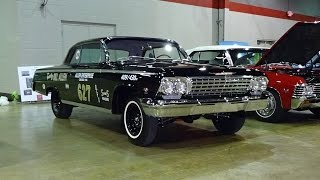 1962 Chevrolet Chevy Impala SS Z-11 Z11 & 409 Engine Sound on My Car Story with Lou Costabile