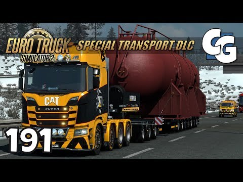 ETS2 - Ep. 191 - 70T Heat Exchanger - ETS2 Special Transport DLC Gameplay