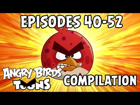 Angry Birds Toons Compilation | Season 1 Mashup | Ep40-52 thumbnail