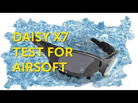 Очки Daisy X7(с алиэкспресс): тест для страйкбола.