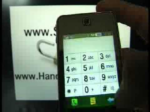 HOW UNLOCK SAMSUNG SGH F480I Tocco www.SIM-UNLOCK.me HANDY ENTSPERREN Phone Freeze Simlock