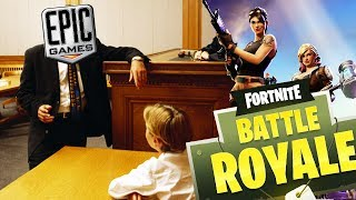 14 Year Old Child SUED By Epic Games for Fortnite Cheating