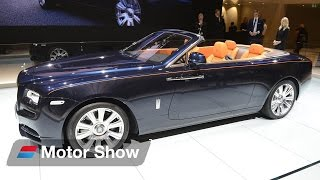 Rolls Royce Dawn vs  Mercedes Benz S Class Convertible  - Frankfurt Motor Show 2015